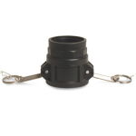 Camlock F Part with Female Thread Type D Camlock Polypropylene Couplings