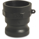 Camlock M Part with Female Thread Type A Camlock Polypropylene Couplings