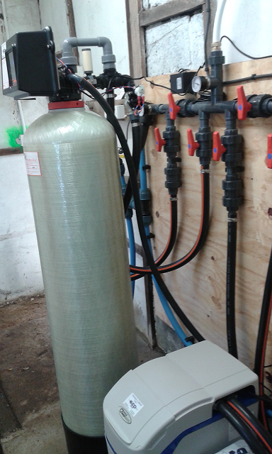 Shakesby Iron Filter and Hague Water Softener Installation by ECP Group