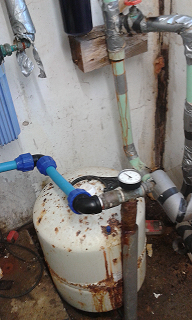 Old Borehole Pump Installation