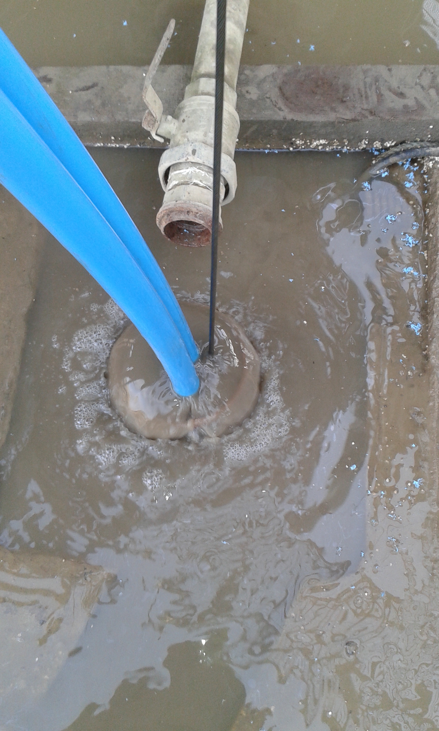Desilting Borehole by ECP Group