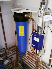 Water Treatment Filter Installation near Flatford Mill Suffolk