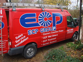 ECP Group Vehicle On Site
