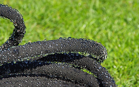 Leaky Pipe the genuine porous irrigation hose